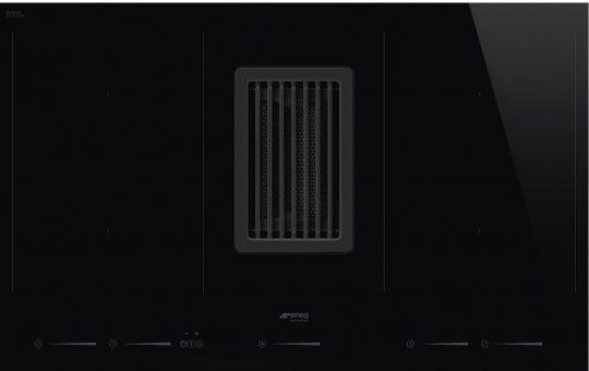 Индукционная варочная панель со встроенной вытяжкой HOBD682D
