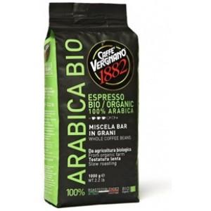 Кофе vergnano espresso bio / organic 100% arabica зерно 1000 г
