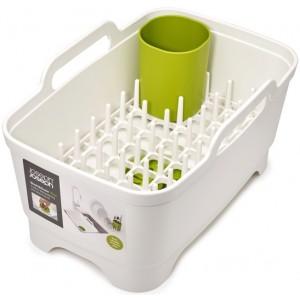 Набор из 3 предметов для мойки и сушки посуды(таз, сушилка, подставка) Joseph Joseph 85101 белый