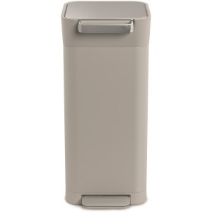 Контейнер для мусора с прессом Titan 20л серый 30039