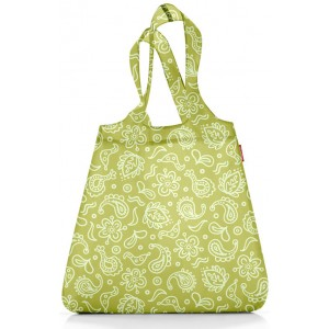 Сумка складная Mini maxi shopper paisley green Reisenthel AT0024PG