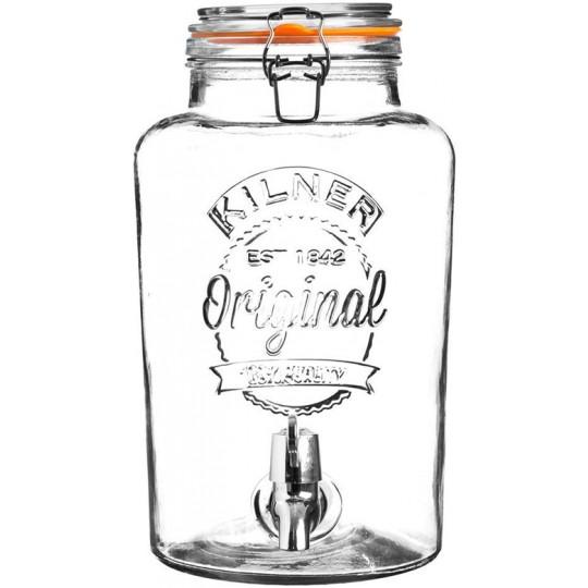 Диспенсер для напитков Clip Top 8л.Kilner K_0025.403V
