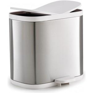 Контейнер для мусора Split для ванной комнаты Joseph Joseph 70520 нержавеющая сталь