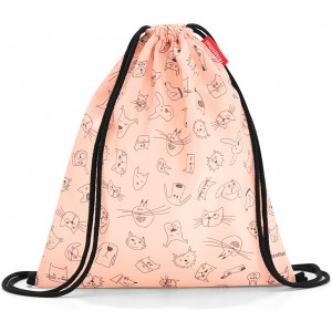 Мешок детский Mysac cats and dogs rose Reisenthel IC3064
