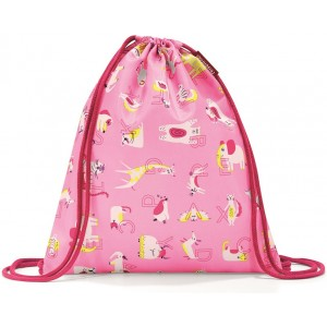 Мешок детский Mysac ABC friends pink Reisenthel IC3066