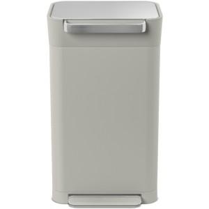 Контейнер для мусора с прессом Titan 30л серый 30036