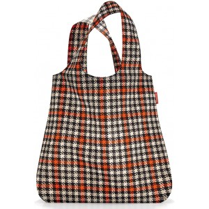 Сумка складная Mini maxi shopper glencheck red Reisenthel AT3068