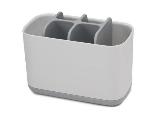 Органайзер для зубных щеток EasyStore Joseph Joseph 70510 большой белый-серый