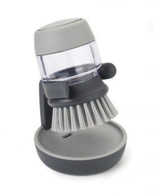 Щётка с дозатором для моющего средства Palm Scrub Joseph Joseph 85005 серая
