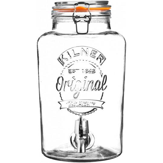 Диспенсер для напитков Clip Top 5 л в подар.упак.Kilner K_0025.873V