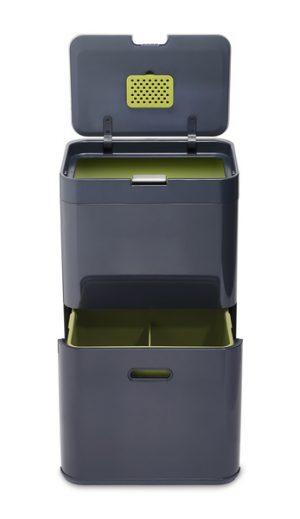 Контейнер для сортировки мусора Joseph Joseph Totem 48л 30020 серый