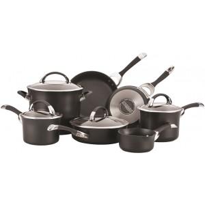 Набор из 7 кастрюль и сковородок Symmetry Circulon 87376 чёрный