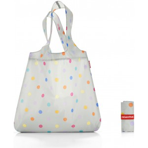 Сумка складная Mini maxi shopper stonegrey dots Reisenthel AT7045