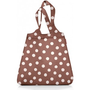 Сумка складная Mini maxi shopper brown dots Reisenthel AT0024BD