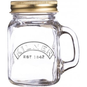 Банка с ручкой и крышкой 140мл Kilner K_0025.764V