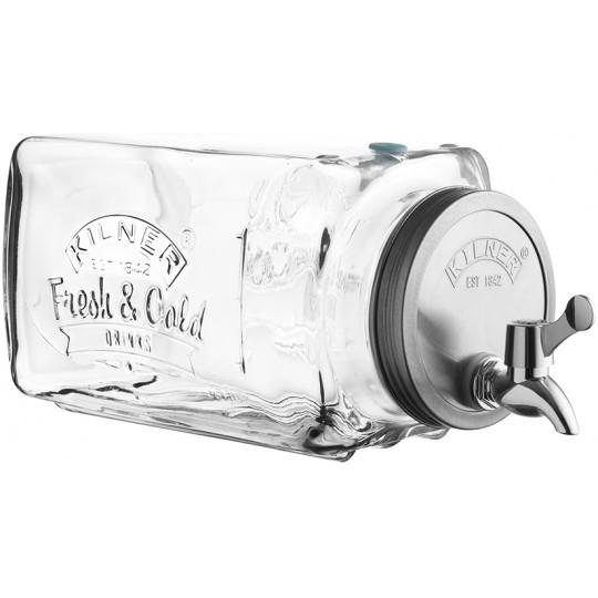 Диспенсер для холодных напитков 3л в подар.упаковке Kilner K_0025.001V