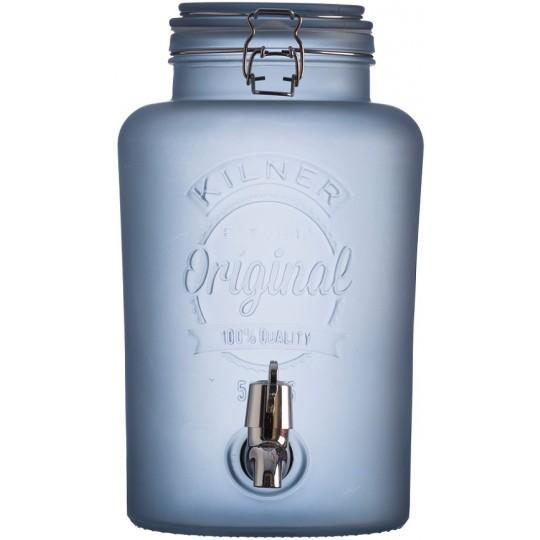 Диспенсер для напитков 5л Kilner K_0025.845V голубой