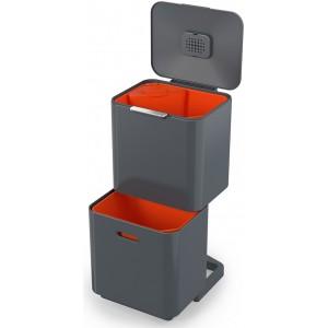 Контейнер для сортировки мусора Joseph Joseph Totem Max 60л 30062 графит