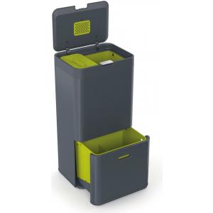 Контейнер для сортировки мусора Joseph Joseph Totem 60л 30002 графит