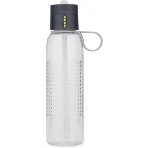 Бутылка для воды Dot Active 750мл Joseph Joseph 81094 серая