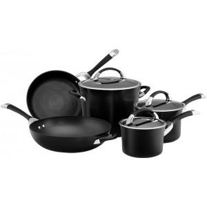Набор из 5 кастрюль и сковородок Symmetry Circulon 84010 чёрный