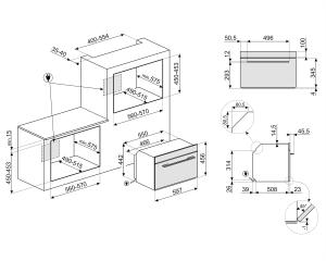 Компактный духовой шкаф SF4104WVCPN