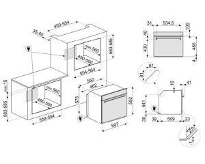 Многофункциональный духовой шкаф SF6301TVX