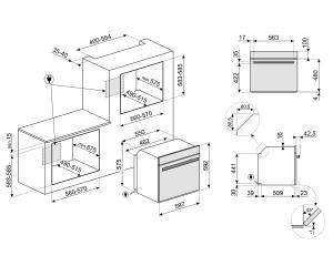 Духовой шкаф SFP6604WSPNX