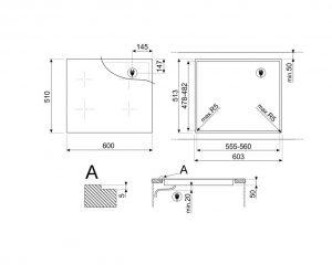 Индукционная варочная панель SIM1643DS