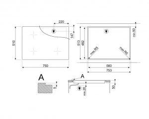 Cтеклокерамическая варочная панель SI4742D